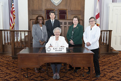 Governor Kay Ivey signs the 2019 Mediation Week Proclamation
